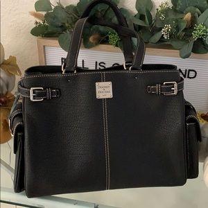 Dooney & Bourke black travel/tote/shoulder bag